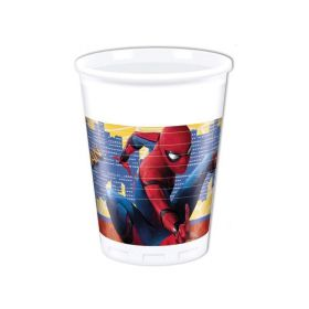 Spiderman Homecomg Party Cups 200ml, pk8