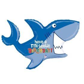 Shark Supershape Foil Balloons