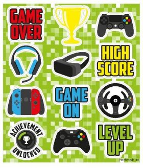 Gamer Stickers