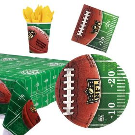 NFL Party Tableware Pack for 8