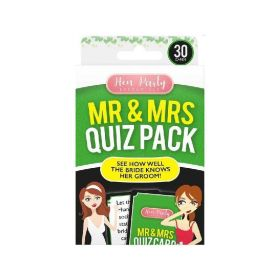 Mr and Mrs Quiz Pack