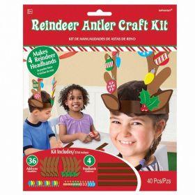Reindeer Antler Craft Kit for 4