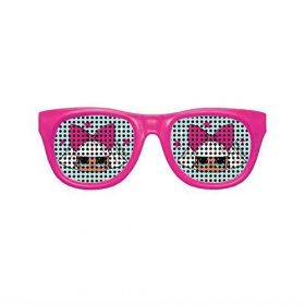 LOL! Surprise Novelty Glasses, pk4