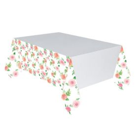 Floral Baby Tablecover 1.37m x 2.43m