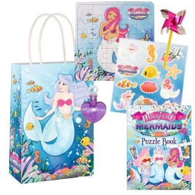 Mermaid Pre Filled Paper Party Bags (no.1), One Supplied