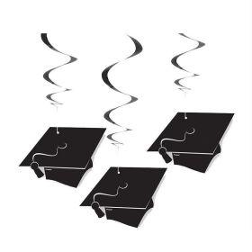 "3 Grad Hanging Swirl-26"""