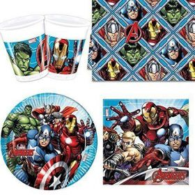 Mighty Avengers Party Tableware Pack for 8