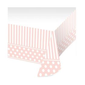 Pink Chic Border Print Tablecover 1.37m x 2.6m