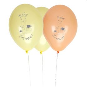 """Llama Love Latex Balloons 12"""", pk8"""