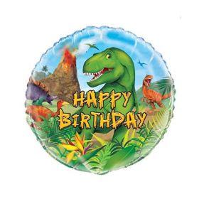 """18""""Pkg Dinosaur Foil Balloon"""