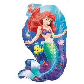Ariel SuperShape Foil Balloon