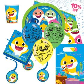Baby Shark Party Ultimate Pack for 8
