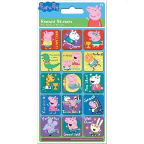 Peppa Pig Caption Foiled Stickers