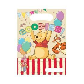 Winnie The Pooh Alphabet Party Bags, pk6