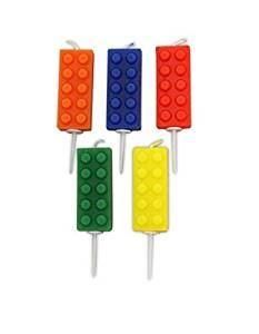Block Party Building Block Pick Candles pk5