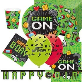 Gaming Party Ultimate Party Pack for 8