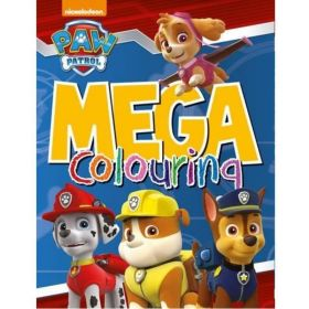 Paw Patrol Mega Colouring Book