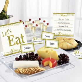 Sparkling Golden Anniversary Buffet Kit
