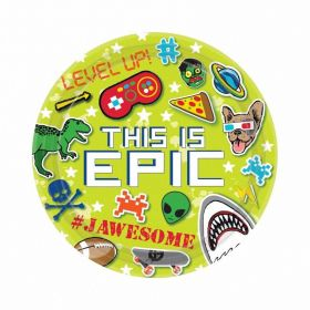 Epic Party Paper Plates 23cm - pk8