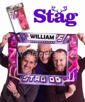 Stag Do Giant Photo Frame 80cm x 60cm
