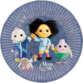 Moon and Me Party Plates