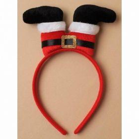 Santa Legs Aliceband