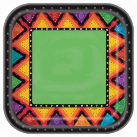 Mexican Fiesta 7'' Dessert Plates