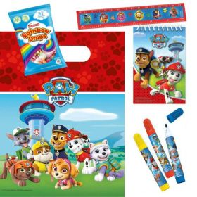 Filled Paw Patrol Bags