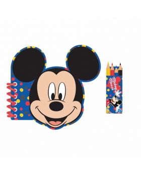 Mickey Mouse Activity Colouring Book, pk4