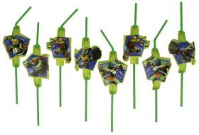 Teenage Mutant Ninja Turtles Drinking Straws, pk8