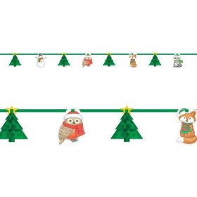 Christmas Honeycomb Garlands 3.65m