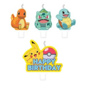 New Pokemon Candle Set, pk4