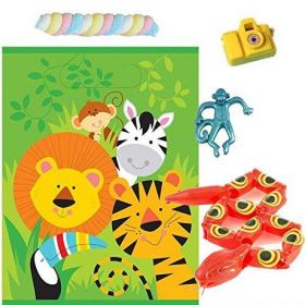 Animal Jungle Pre Filled Party Bags (no.3), one supplied