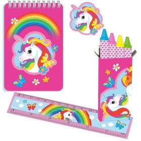 Unicorn Stationery Pack 20pc