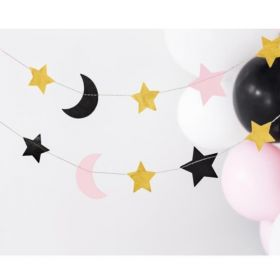 Stars & Moons Garland 1.9m