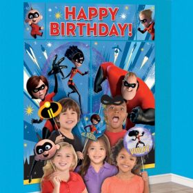 The Incredibles 2 Wall Decoration Kits with Props