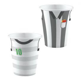 Kicker Party Cups 250ml, pk8