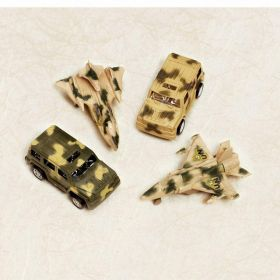 Pull Back Tank & Jet Bulk Favour, 4 assorted design