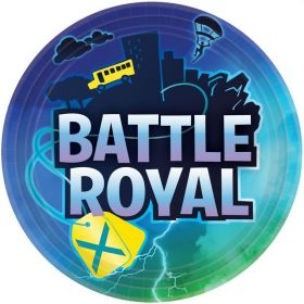 Battle Royal Paper Plates 23cm, pk8