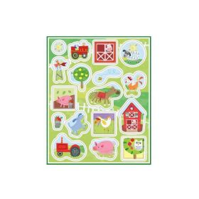 4 Farm Party Sticker Sheet