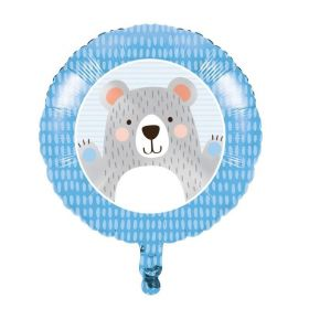 Birthday Bear Foil Balloon 18''