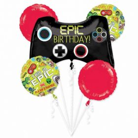 Epic Party Balloons Bouquet, pk5