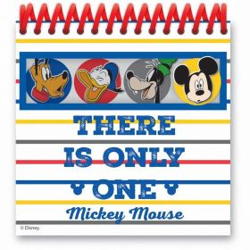 Mickey Mouse Spiral Notebooks, pk4