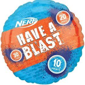 NERF Target Jumbo Foil Balloon 28''