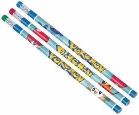 Pokémon Pencils with Erasers