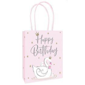 Swan Party Paper Bags, pk3
