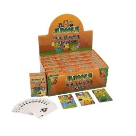 Jungle Animals Mini Playing Cards