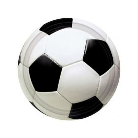 Championship Soccer Plates 23cm, pack of 8
