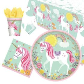 Magical Unicorn Tableware Pack for 8