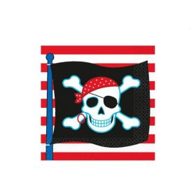 Pirate Party Beverage Napkins, pk16